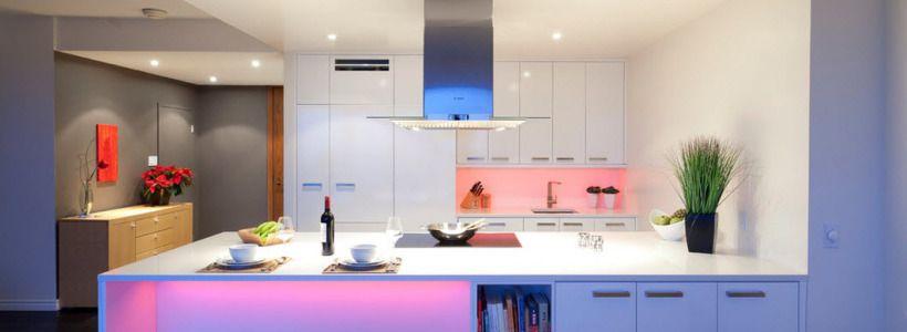 Светодиодные светильники для кухни (49 фото): ярко и функционально