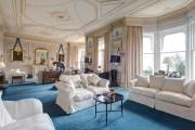 Фото 4 Потолочные багеты (45 фото): изящный декор комнаты без особых усилий
