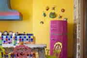 Фото 2 Холодильник на кухне (46 фото): выбираем правильное место