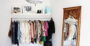 Напольная вешалка для одежды (47 фото): все для любимых вещей фото