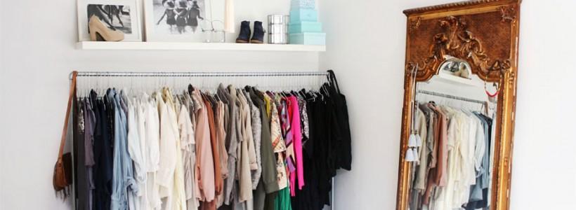 Напольная вешалка для одежды (47 фото): все для любимых вещей