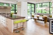 Фото 6 Кухня с эркером: 50 наиболее уютных дизайнерских решений для дома