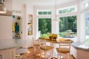 Фото 12 Кухня с эркером: 50 наиболее уютных дизайнерских решений для дома