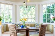 Фото 15 Кухня с эркером: 50 наиболее уютных дизайнерских решений для дома