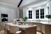 Фото 16 Кухня с эркером: 50 наиболее уютных дизайнерских решений для дома