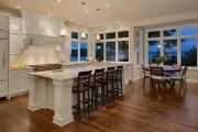 Фото 20 Кухня с эркером: 50 наиболее уютных дизайнерских решений для дома