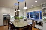 Фото 14 Кухня с эркером: 50 наиболее уютных дизайнерских решений для дома