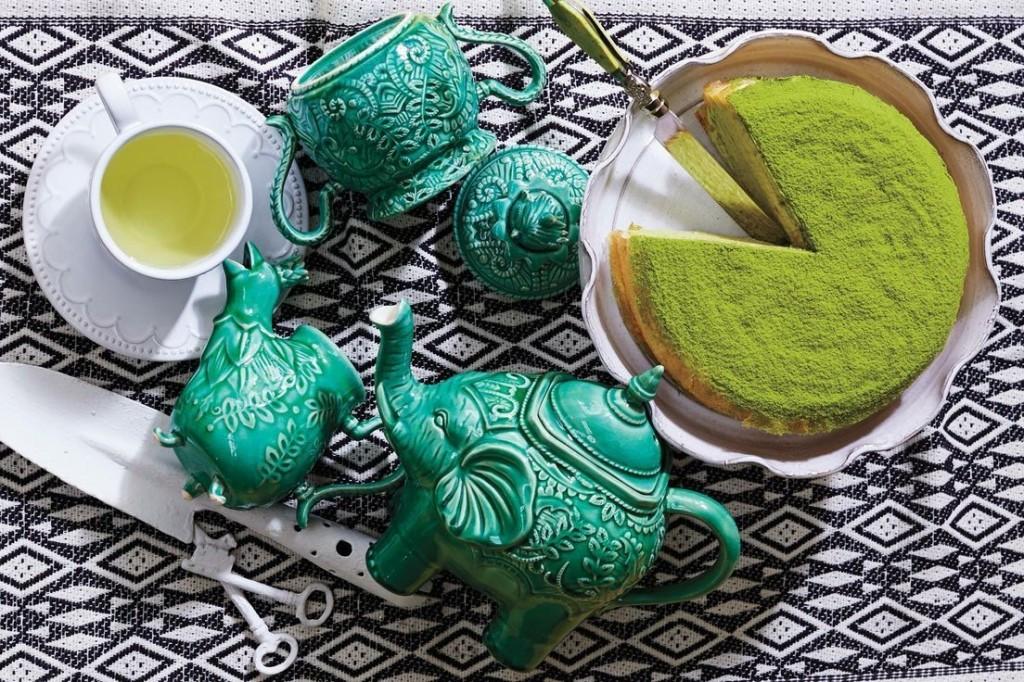 Оригинальный чайный сервиз в восточном стиле задаст тон чайной вечеринке