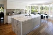 Фото 23 Кухня с эркером: 50 наиболее уютных дизайнерских решений для дома