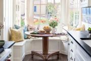 Фото 25 Кухня с эркером: 50 наиболее уютных дизайнерских решений для дома