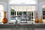 Фото 28 Кухня с эркером: 50 наиболее уютных дизайнерских решений для дома