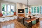 Фото 29 Кухня с эркером: 50 наиболее уютных дизайнерских решений для дома