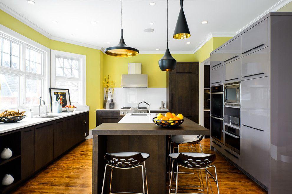 Эркер в кухне помогает существенно увеличить ее площадь
