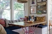 Фото 17 Кухня с эркером: 50 наиболее уютных дизайнерских решений для дома