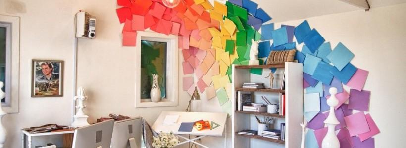 Декор стены своими руками (61 фото): преображаем свой дом