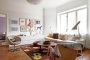 Фото 1 Дизайн двухкомнатной квартиры: лучшие реализации перепланировки и особенности зонирования