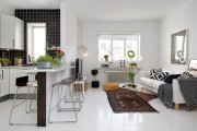 Фото 4 Дизайн двухкомнатной квартиры: лучшие реализации перепланировки и особенности зонирования
