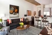 Фото 5 Дизайн двухкомнатной квартиры: лучшие реализации перепланировки и особенности зонирования