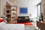 Фото 3 Дизайн двухкомнатной квартиры: лучшие реализации перепланировки и особенности зонирования