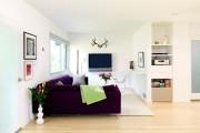 Фото 9 Дизайн двухкомнатной квартиры: лучшие реализации перепланировки и особенности зонирования
