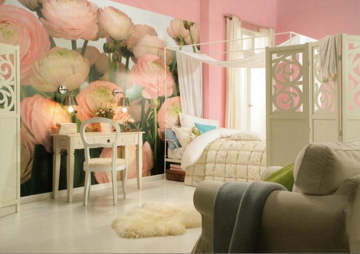 Мягкий розовый цвет создает особенную атмосферу уюта