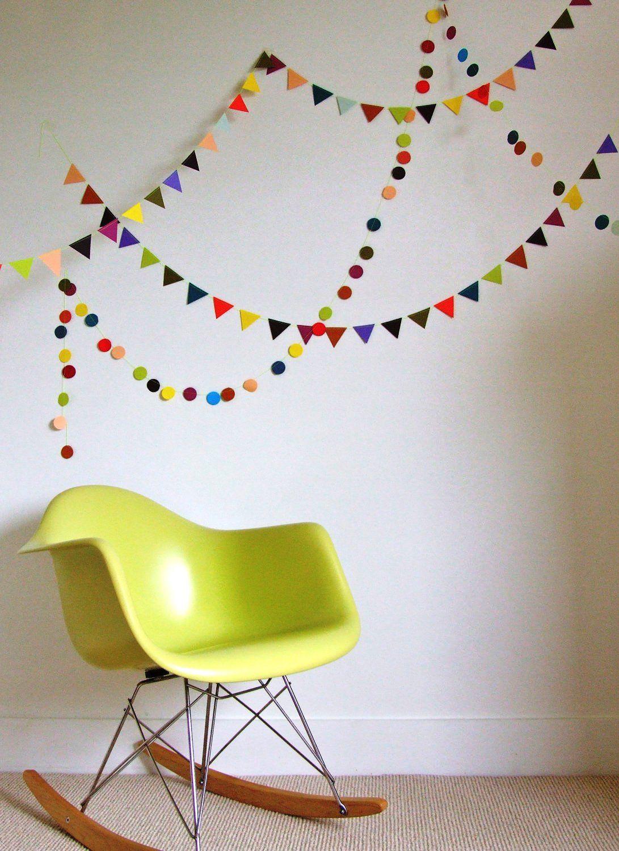 Гирлянды на новый год своими руками для украшения комнаты из бумаги
