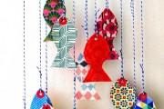 Фото 4 Гирлянды из бумаги своими руками: 85+ потрясающих идей декора для уютного дома