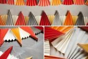 Фото 29 Гирлянды из бумаги своими руками: 85+ потрясающих идей декора для уютного дома