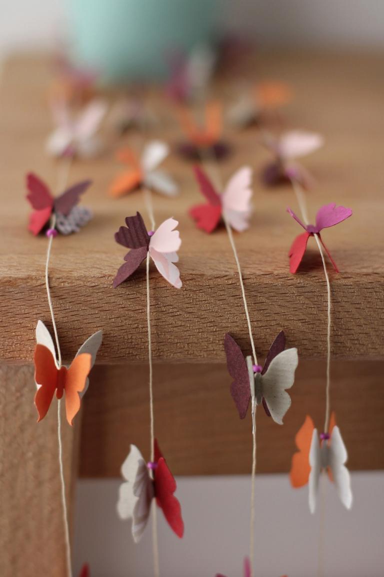 Подвеска бабочка своими руками