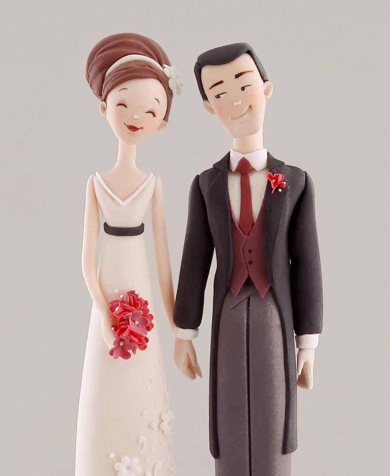 Свадебные фигурки молодоженов, созданные своими руками