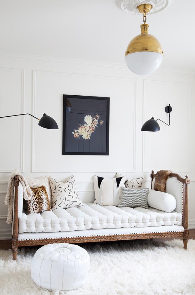 Стеганый матрас с интересной текстурой понравится неординарным личностям и ценителям модерного стиля