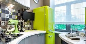Холодильник на кухне (46 фото): выбираем правильное место фото