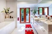 Фото 1 Коврики для ванной комнаты (40 фото): красота, безопасность и комфорт