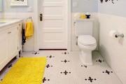Фото 2 Коврики для ванной комнаты (40 фото): красота, безопасность и комфорт