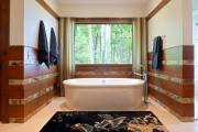 Фото 23 Коврики для ванной комнаты (40 фото): красота, безопасность и комфорт
