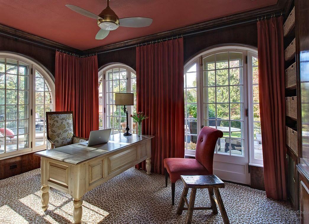 Для любителей простых и природных мотивов - леопардовое ковровое покрытие