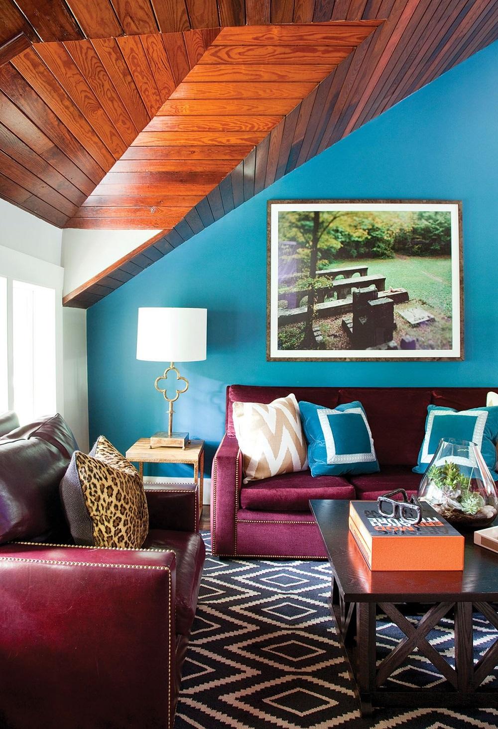Ковровое покрытие достаточно нейтрально, чтобы прекрасно сочетаться с любыми стилями интерьера