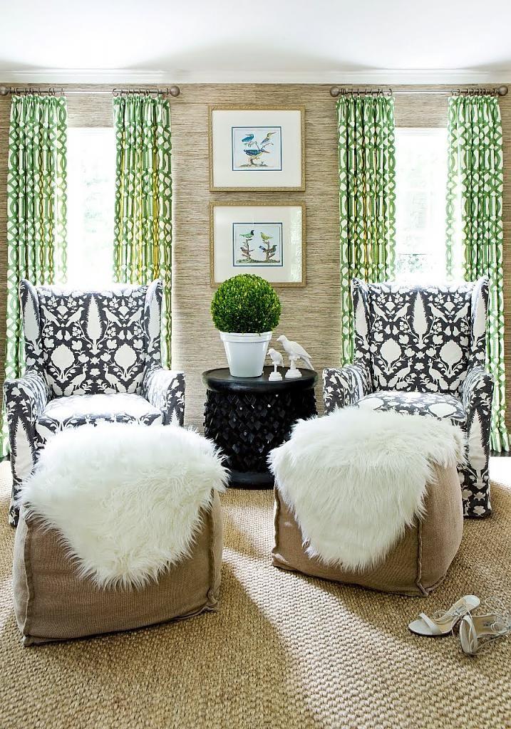 Сама текстура коврового покрытия имеет интересные декоративные свойства