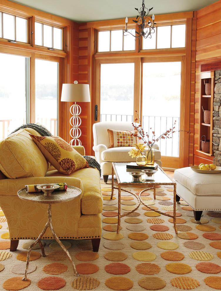 Прекрасный теплый рельефный узор на ковровом покрытии
