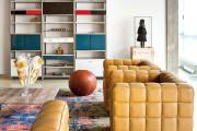 Фото 3 Кожаные диваны для дома и квартиры (60+ лучших недорогих моделей): комфорт без компромиссов!