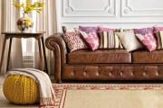 Фото 4 Кожаные диваны для дома и квартиры (60+ лучших недорогих моделей): комфорт без компромиссов!