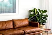 Фото 5 Кожаные диваны для дома и квартиры (60+ лучших недорогих моделей): комфорт без компромиссов!