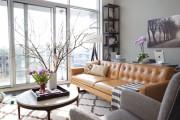 Фото 9 Кожаные диваны для дома и квартиры (60+ лучших недорогих моделей): комфорт без компромиссов!