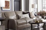 Фото 10 Кожаные диваны для дома и квартиры (60+ лучших недорогих моделей): комфорт без компромиссов!