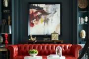 Фото 11 Кожаные диваны для дома и квартиры (60+ лучших недорогих моделей): комфорт без компромиссов!