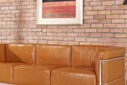 Фото 13 Кожаные диваны для дома и квартиры (60+ лучших недорогих моделей): комфорт без компромиссов!