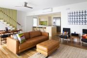 Фото 17 Кожаные диваны для дома и квартиры (60+ лучших недорогих моделей): комфорт без компромиссов!