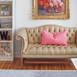 Кожаные диваны (45 фото): презентабельно, престижно, комфортно фото