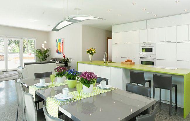 Меньше лишних деталей – больше места для времяпровождения! Кухня в стиле минимализм – это удобное решение для тех, кто ценит пространство