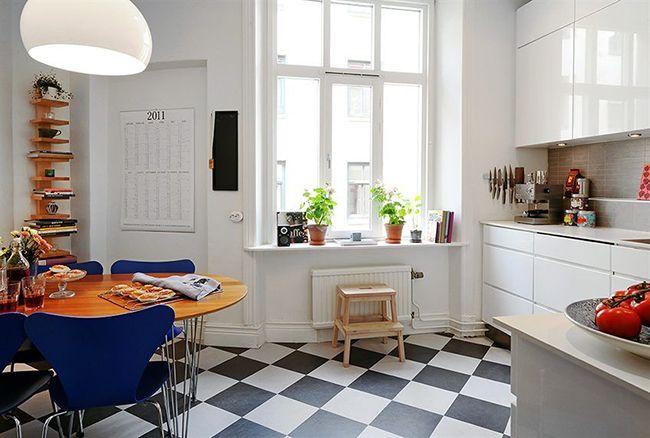Скандинавский стиль на кухне: для любителей сдержанных, но в то же время уютных интерьеров